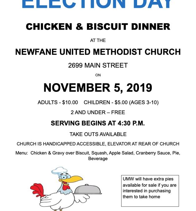 Chicken & Biscuit Dinner 2019