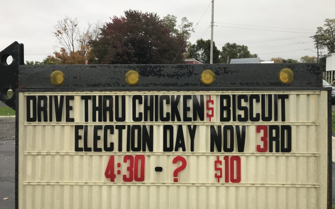 Election Day Dinner 2020